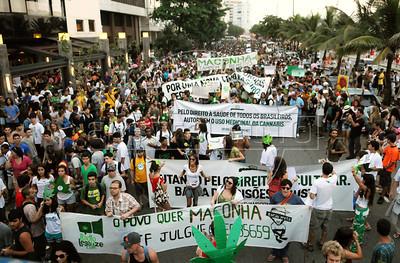 Brazil marijuana protest