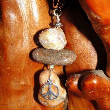lake stone pendant