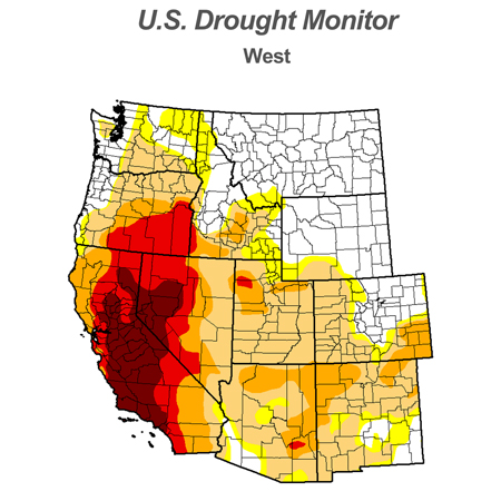 Western United States Drought Monitor