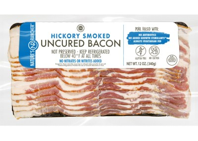 Hickory Smoked Uncured Bacon