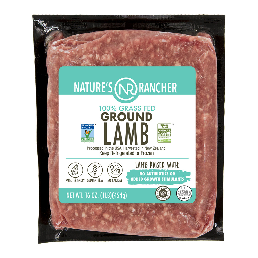 NR Organic Ground Lamb