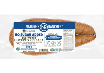No Sugar Added Uncured Old World Kielbasa