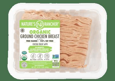 ORGANIC GROUND CHICKEN BREAST