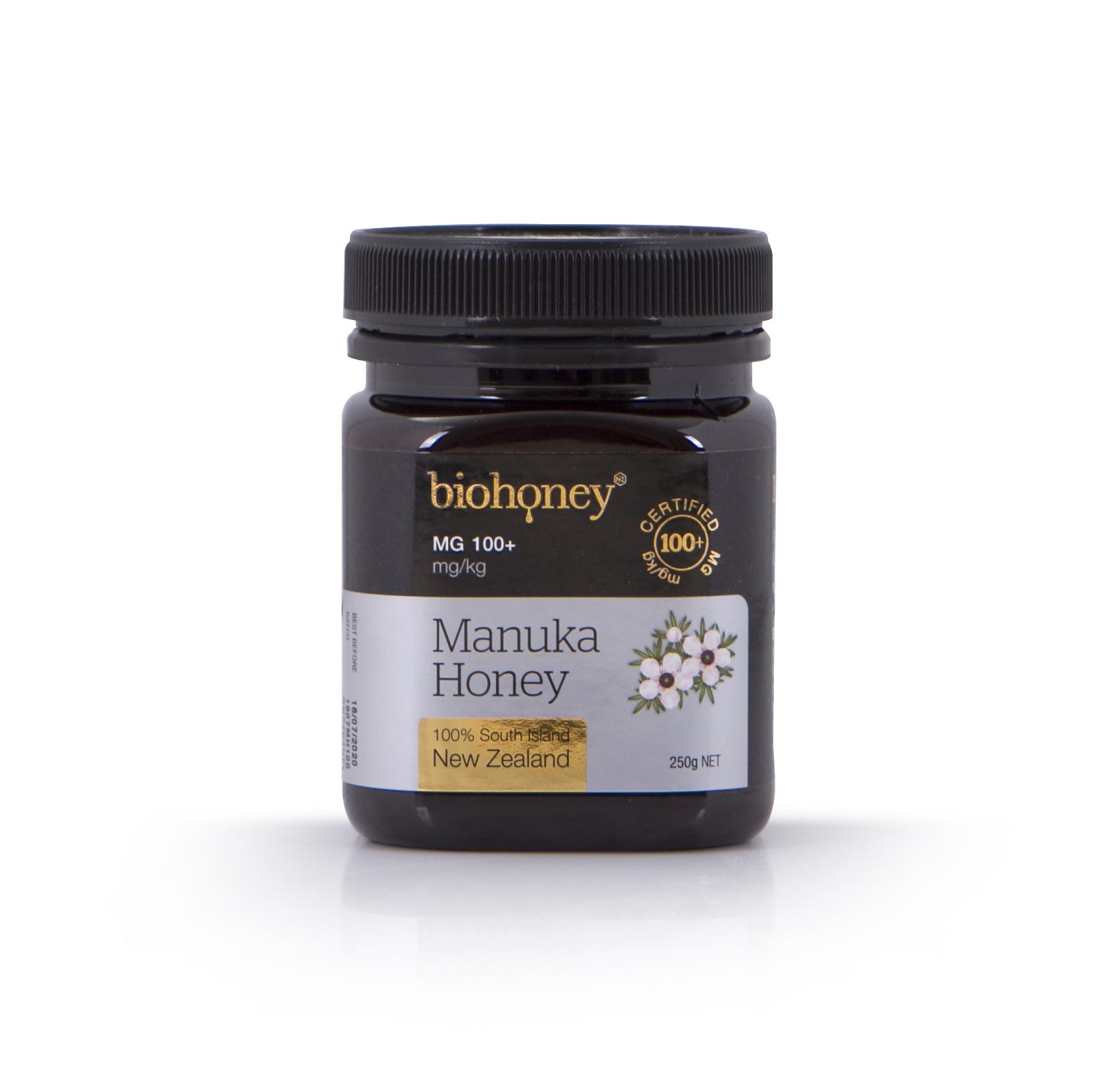 Biohoney Organic Manuka Honey from NZ - Certified MG 100+