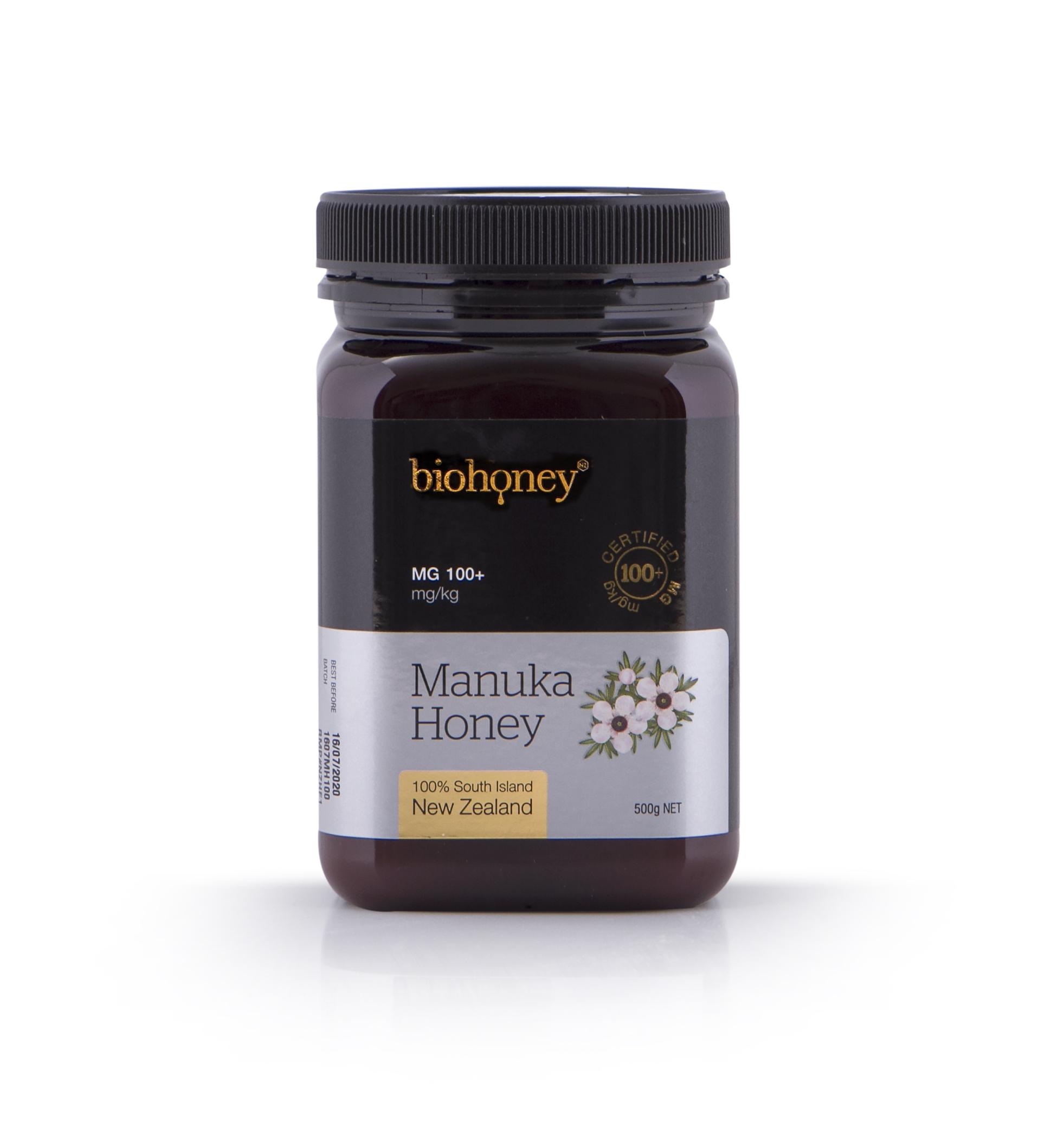 Biohoney Organic Manuka Honey from NZ - Certified MG 100 ...