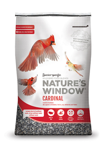 Image of Nature's Window Cardinal - Front View