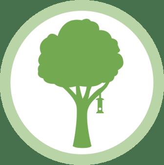 Bird feeding tips - shelter icon