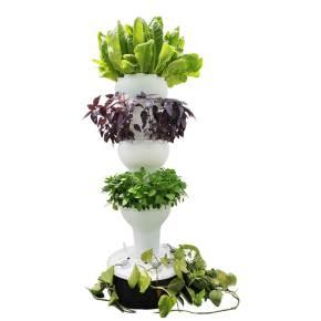 מתאימה לגידול 44 עד 56 צמחים בשיטה ההידרופונית