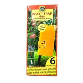 מלכודת דבק צהובה ללכידת מזיקים - 6 יח' - 25 * 10 ס