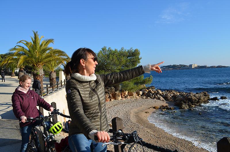 Vélo à Bandol