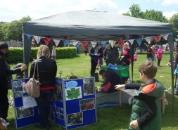 Nature Vibezzz Kite Day stall Streatham Common Lambeth London Forest School