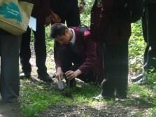 St Josephs College students nature survey
