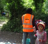 Knights Hill Wood Capital Clean Up 27-6-16 Lambeth wildlife conservation Home education free activity