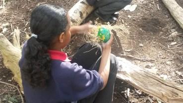 Forest School easter egg hunt Granton Primary School Lambeth-5
