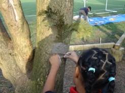 Granton Primary School forest school after school activity Lambeth-4