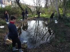 Granton Primary Year 5 students pond dipping Lambeth-8