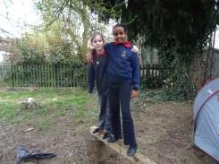 Second forest school after school activity for Granton primary school children -3