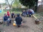 Second forest school after school activity for Granton primary school children -5