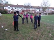 Second forest school after school activity for Granton primary school children -6