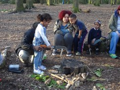 Second free forest school after school activity at Fern Lodge Estate Lambeth-8