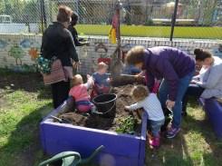 1st Forest School pre-school activity at Lollard St Adventure Playground-2