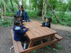 Forest School after school Lambeth London primary school-2