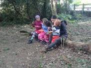 Free family nature activity Knights Hill Wood Lambeth London-18