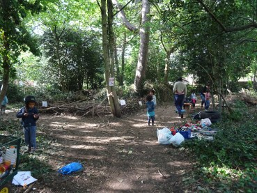 free family event Knights Hill Wood Lambeth London-16