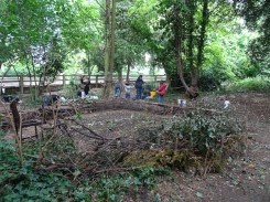 free family event Knights Hill Wood Lambeth London-8