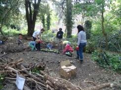 free family nature activity Knight Hill Wood Lambeth London-7