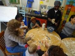 Free pre-school Lollard St Adventure Playground forest school Lambeth London-6