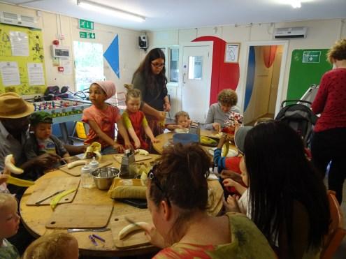 Pre-school free activity Lollard St Adventure Playground Kennington Lambeth London-1