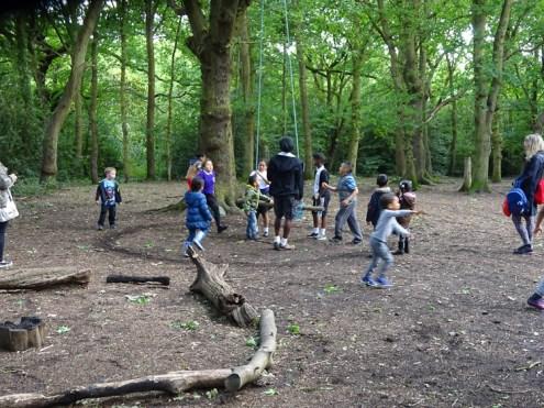 Free after school children Forest School club Lambeth London-1