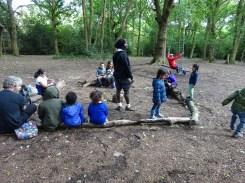 Free after school children Forest School club Lambeth London-6