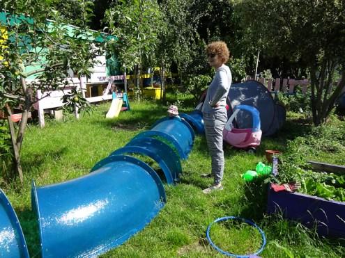 Free Family Forest School Lollard St Adventure Playground Lambeth London-1