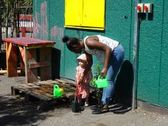 Free Family Forest School Lollard St Adventure Playground Lambeth London-3