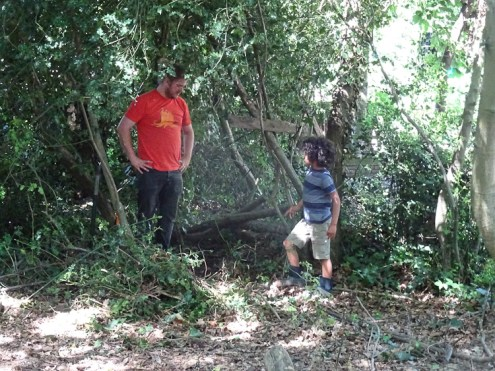 Free family nature Knights Hill Wood West Norwood Lambeth London-1