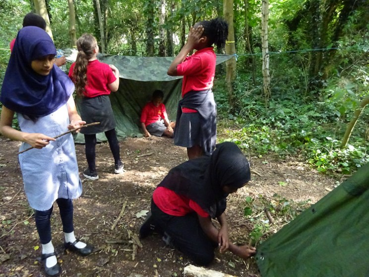 Free after school forest school club Streatham Lambeth London-13