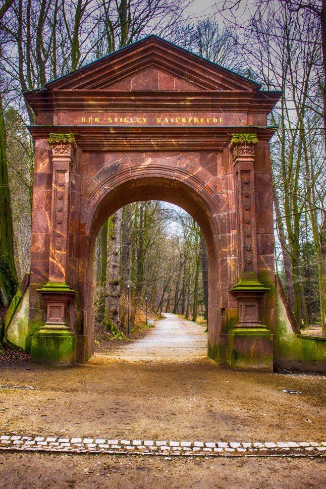 Eingangsportal Grünefelder Park