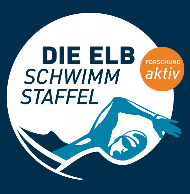 Das Logo der Wissenschaftsjahr_2016_17_Elbschwimmstaffel
