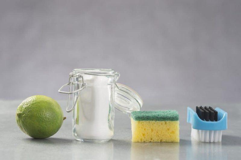Propiedades del bicarbonato con jugo de limon