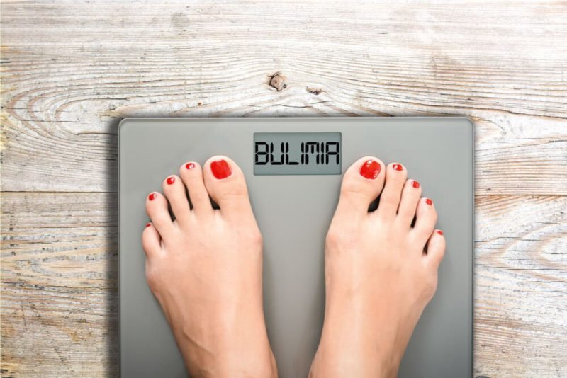 bulimia y perdida de peso repentina