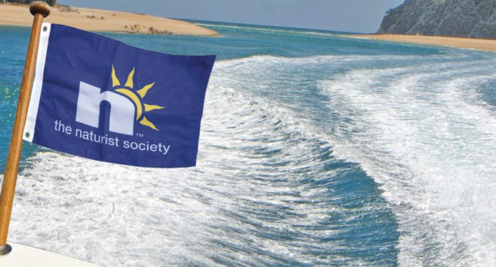 The Naturist Society Boat Flag