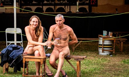 Friday at Nudefest – Getting to the Sharp End