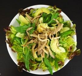 Rucola-Austernpilz-Salat