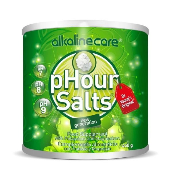 1221 Young pHorever phour salts ALKALINE CARE 450 gr