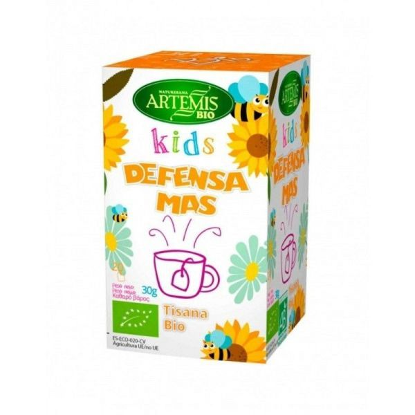 2081 Tisana kids defensas mas 20 filtros ARTEMIS BIO