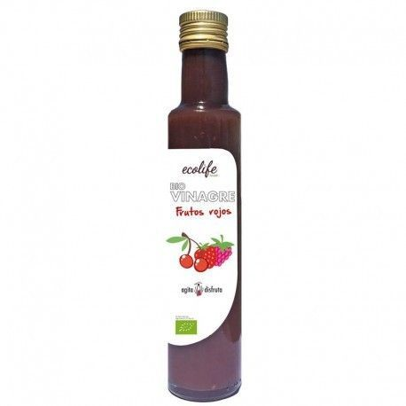 2333 Vinagre frutos rojos ECOLIFE 250 ml BIO