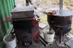 Bykgrytor kan användas för vaxåtervinning