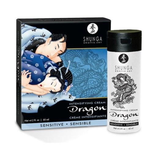 shunga crema dragon para parejas